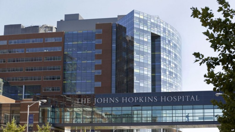 hospital Johns Hopkins en Baltimore, Maryland. 2-10-13.