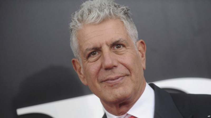 "Photo by: Dennis Van Tine/STAR MAX/IPx 2018 11/23/15 Anthony Bourdain at the premiere of ""The Big Short"". (NYC)"