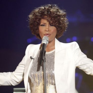 Whitney Houston al Salón de la Fama del Rock and Roll